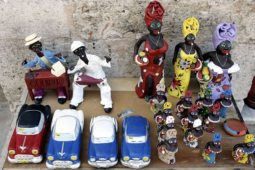Old Havana, Street Market : Stock Photo