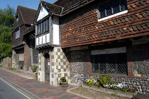 Anne of Cleves House : Stock Photo