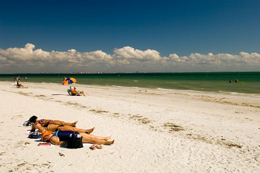 Florida, Sanibel Island, Beach : Stock Photo