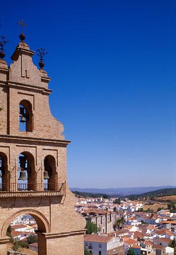 Aracena, Town View : Stock Photo