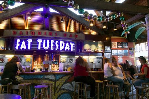 Miami, Coconut Grove, Cocowalk, Bar : Stock Photo
