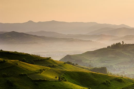 Maramures, Bogdan Voda From Bocicoel Pass : Stock Photo
