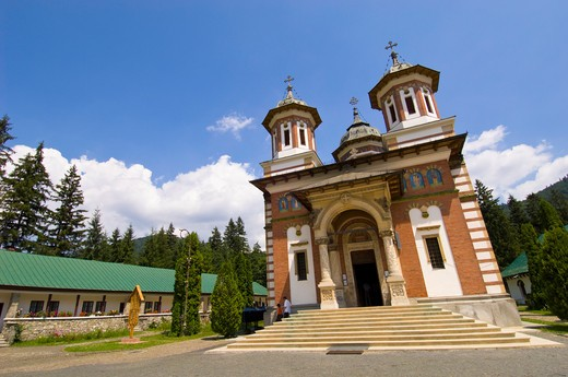 Transylvania, Vlad The Impaler, Monastery : Stock Photo