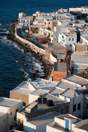 Greece, Dodecanese, Nisiros Island, Townscape : Stock Photo
