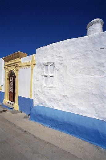 Greece, Dodecanese, Afantou village, Traditional building : Stock Photo