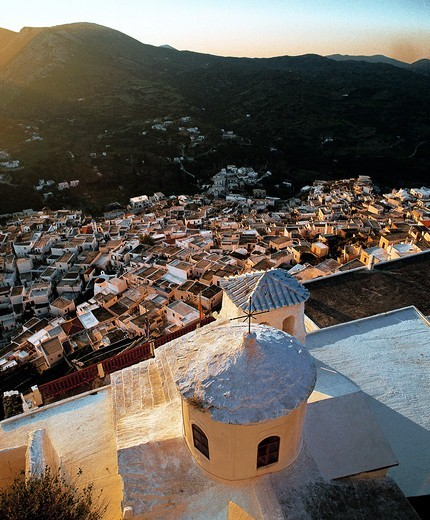 Stock Photo: 196-2560 Greece, Sporades, Skiros, Townscape