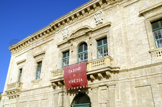 Casino Di Venezia In Valletta : Stock Photo