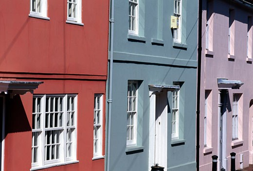 Lewes, Houses : Stock Photo