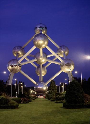 Atomium, Brussels, Atomium : Stock Photo