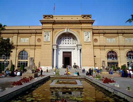 Cairo, Egyptian Museum : Stock Photo
