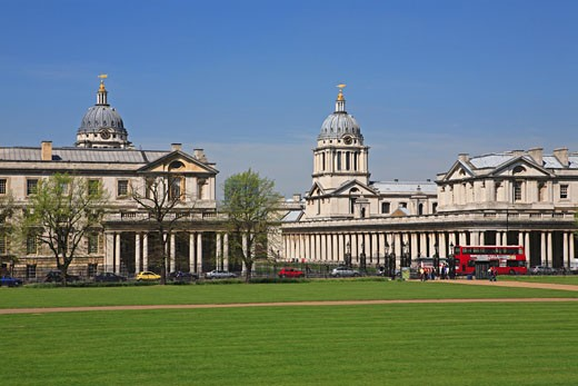 The Royal Naval College, Greenwich : Stock Photo