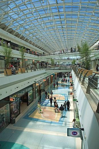 Lisbon, Parque Das Nacoes, Vasco Da Gama Shopping Mall : Stock Photo