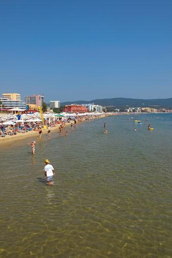 Black Sea Coast, Sunny Beach : Stock Photo