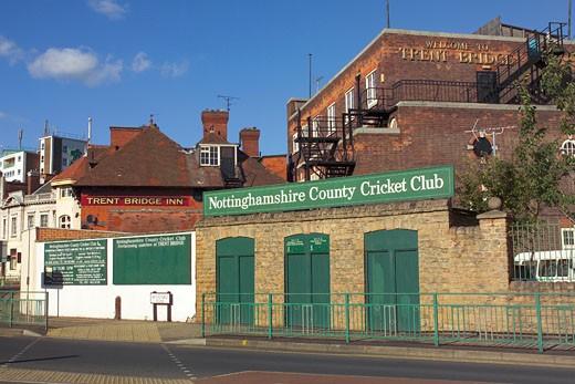 Nottinghamshire County Cricket Club : Stock Photo