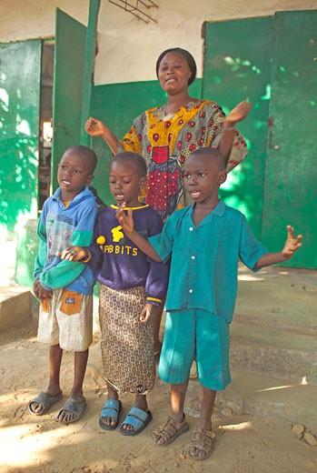 Banjul, Nursery School : Stock Photo