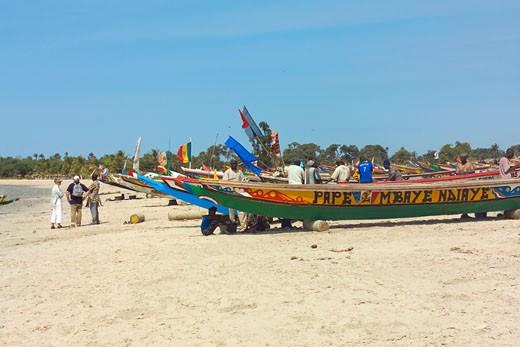 Paradise / Sanyang Beach, Fishing Boats : Stock Photo