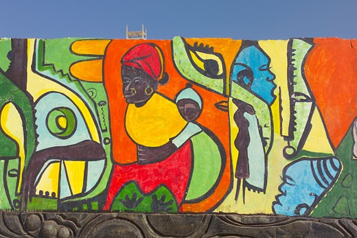 Gambia, Wall Mural : Stock Photo