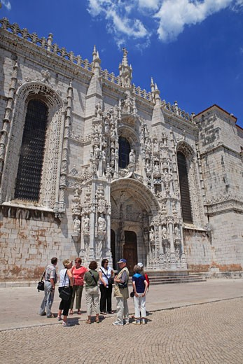 Portugal, Lisbon, Belem, Mosteiro Dos Jeronimos : Stock Photo