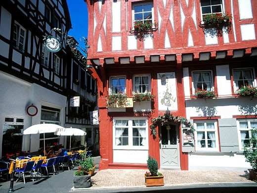 Rhine Valley, Boppard : Stock Photo