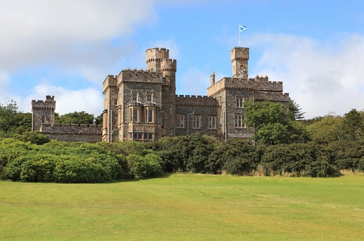 Lews Castle, Stornoway, Isle Of Lewis, Outer Hebrides : Stock Photo
