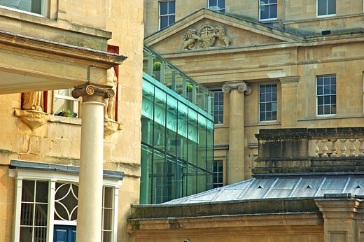 Bath, Thermae Bath Spa : Stock Photo