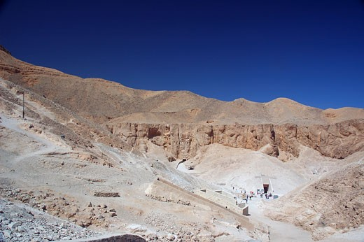 Luxor, Valley of the Kings : Stock Photo