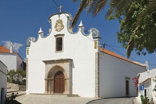 Conceicao Church Near Cabanas, Tavira : Stock Photo