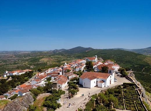 Alentejo, Marvao, Daytime View : Stock Photo
