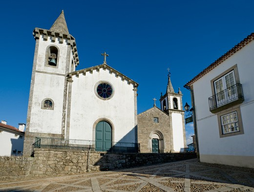 Costa Verde, Minho District, Valenca Do Minho,  Churches Within The Fortress Walls : Stock Photo