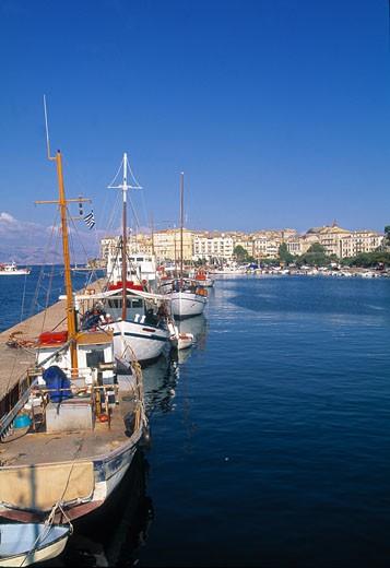 Ionian, Corfu Town : Stock Photo