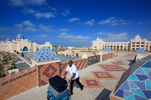 Cape Verde Islands Boa Vista Riu Karamboa Hotel : Stock Photo