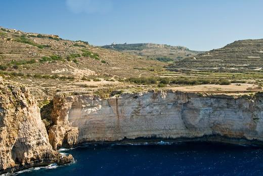 Stock Photo: 1988-103 South East Coast, Malta Island, Republic of Malta