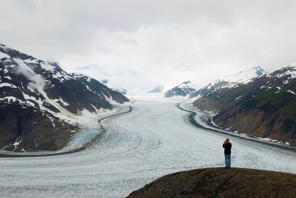 Salmon Glacier, British Columbia, Canada : Stock Photo