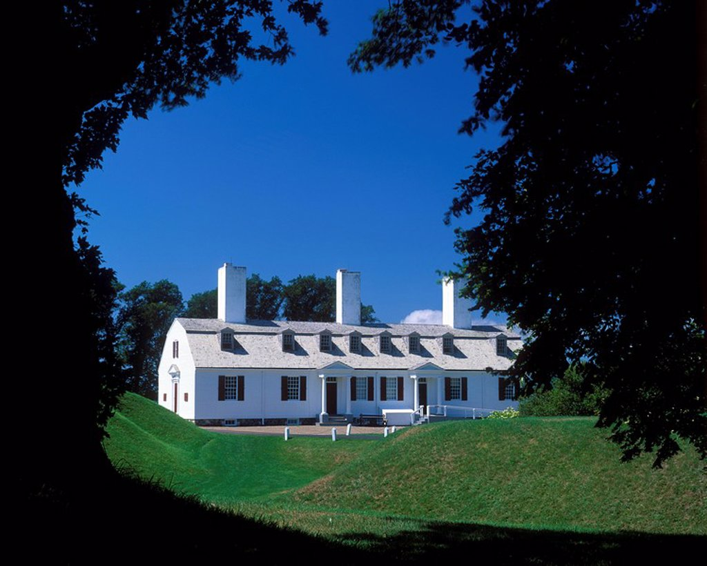 Fort Anne National Historic Site, Fort Anne National Park, Annapolis Valley, Annapolis Royal, Nova Scotia, Canada. : Stock Photo