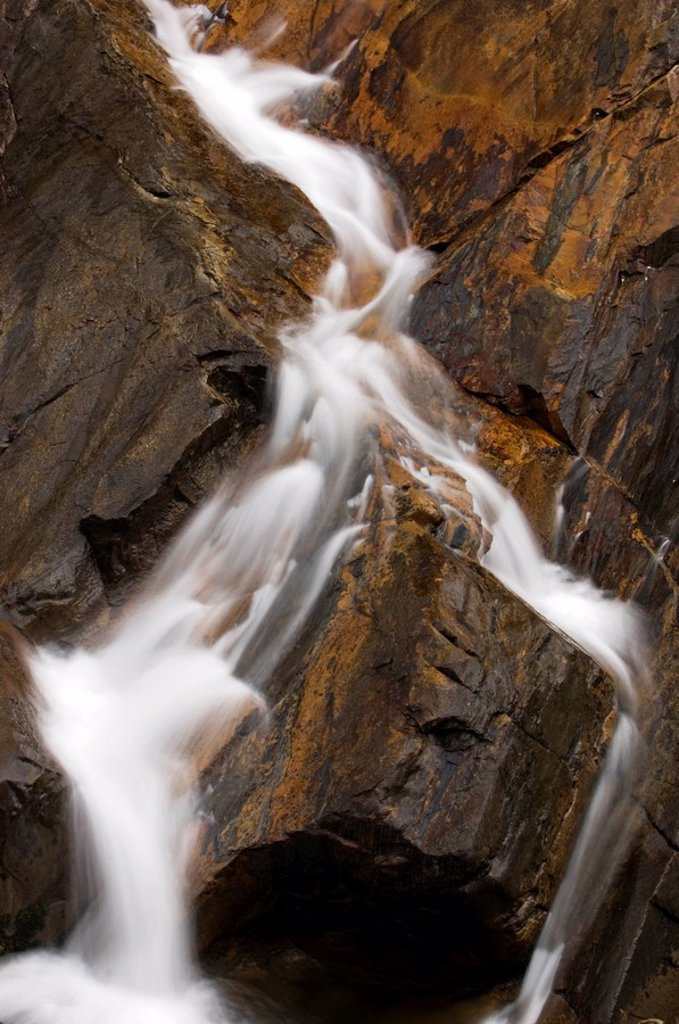 Stock Photo: 1990-11994 Detail of The Sinks Waterfall on Little River, Ontario, Canada