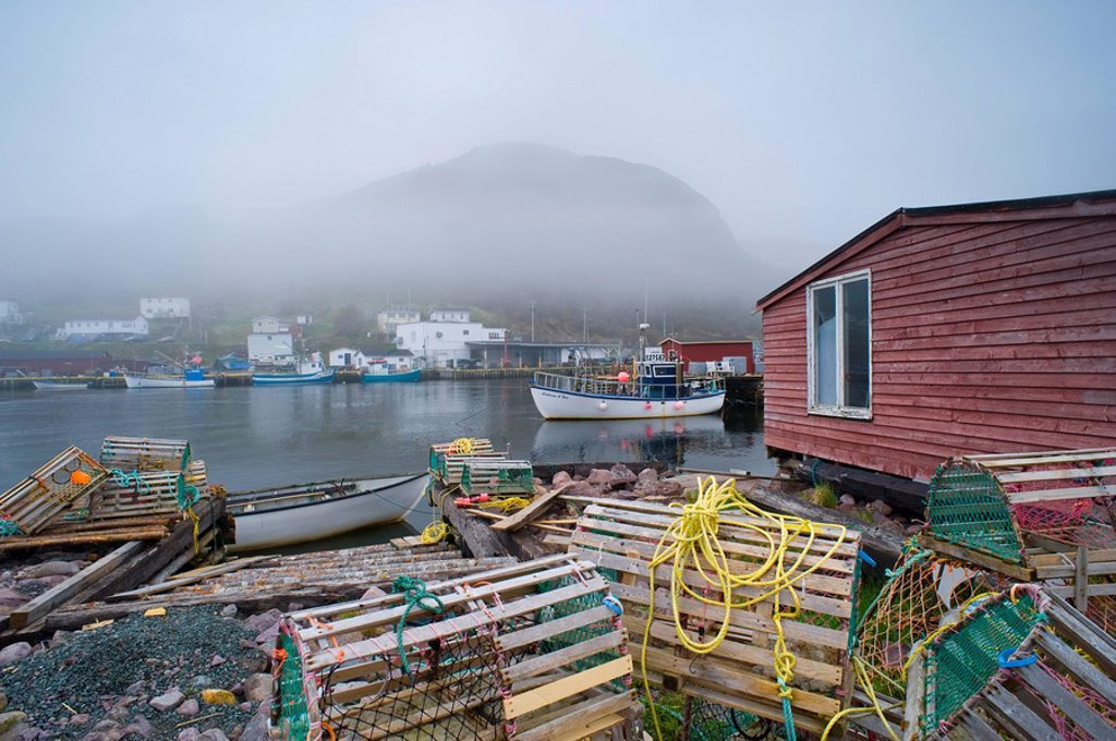 Stock Photo: 1990-16669 Petty Harbour, Newfoundland, Canada