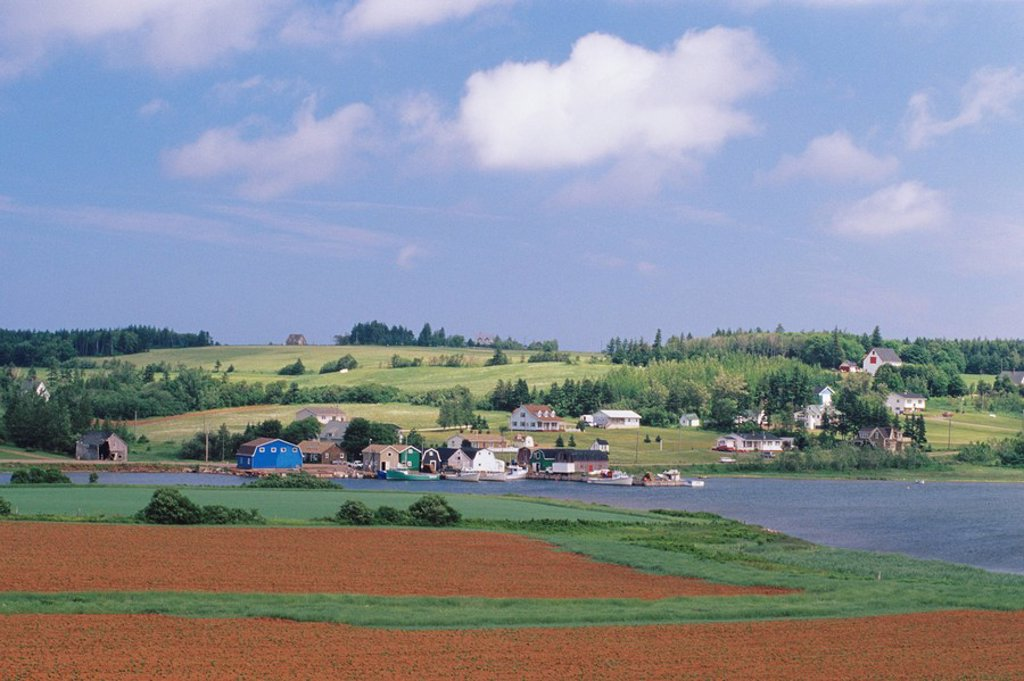 French River, Prince Edward Island, Canada : Stock Photo