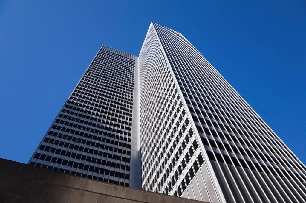 Place Ville_Marie building, Montreal, Quebec, Canada : Stock Photo