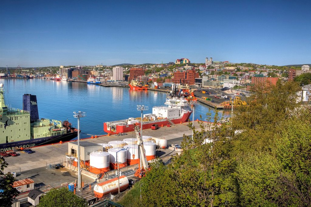 St. John´s, Newfoundland, Canada : Stock Photo