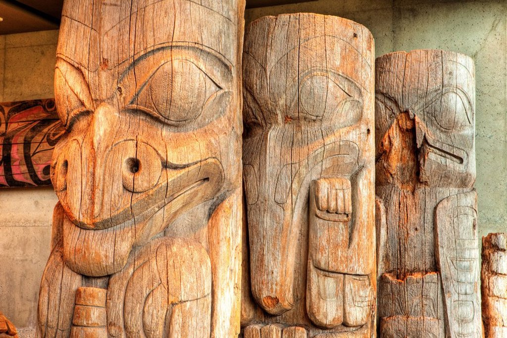 Stock Photo: 1990-19674 Museum of Anthropology, Vancouver, British Columbia, Canada