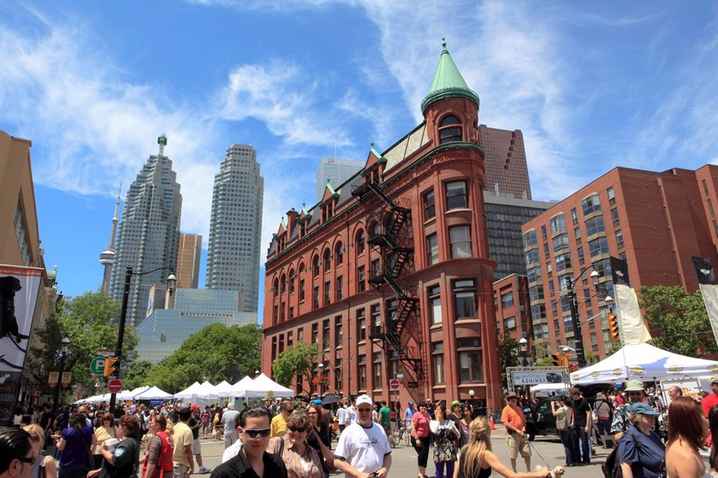 St. Lawrence Market Area, Toronto, Ontario, Canada : Stock Photo