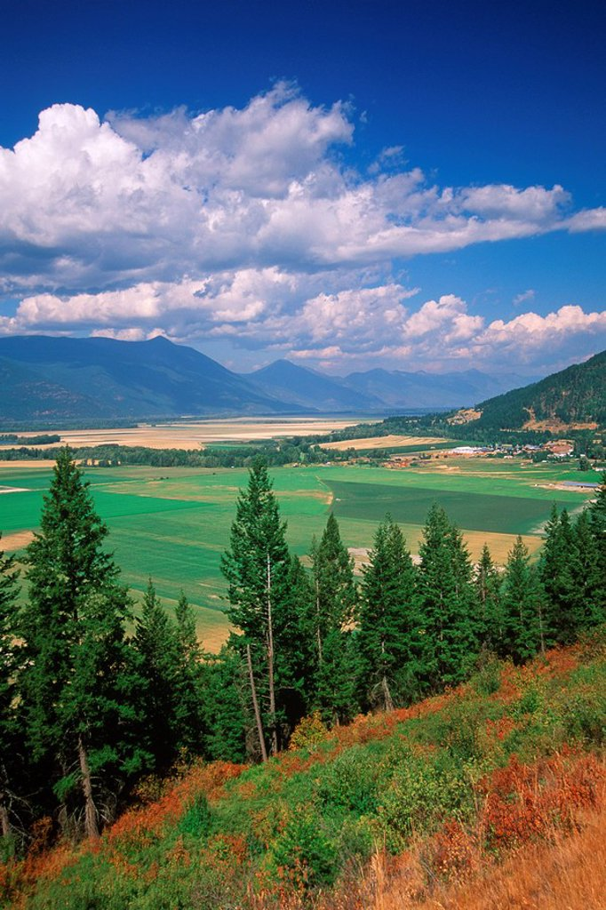 Creston Valley , Kootenays, British Columbia, Canada : Stock Photo