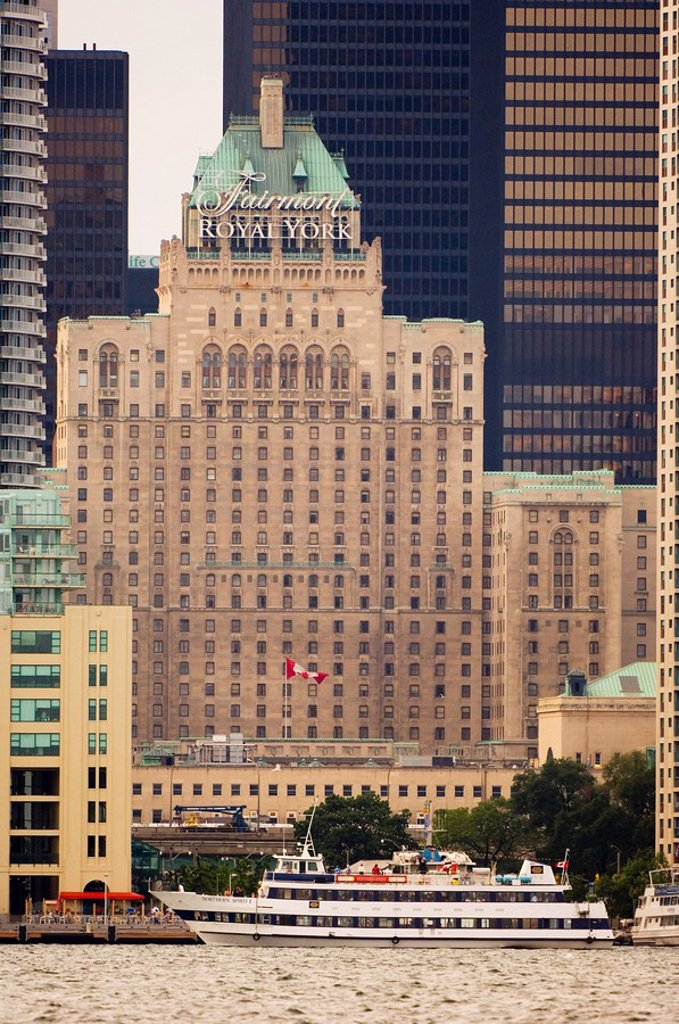 Royal York Hotel, Toronto, Ontario, Canada : Stock Photo