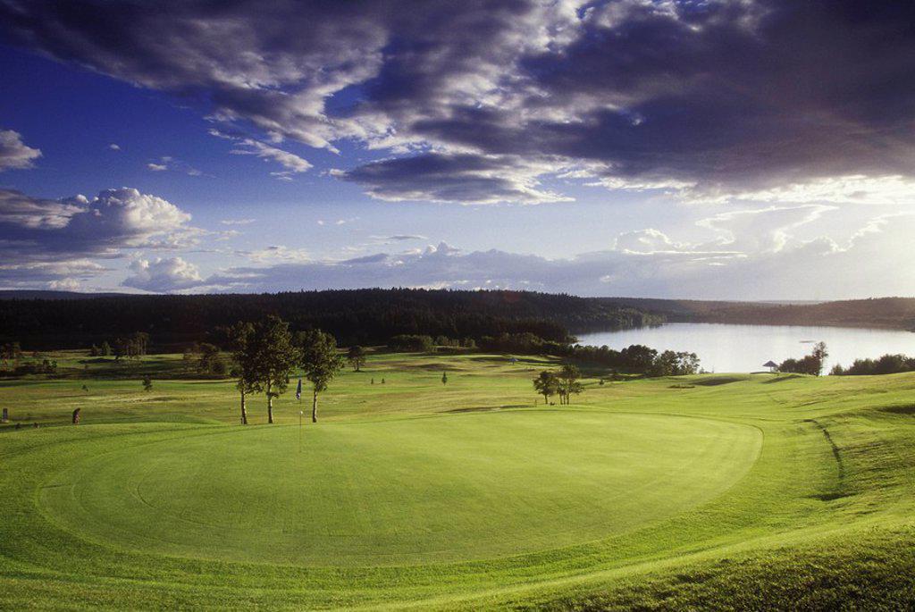 Stock Photo: 1990-25686 108 Ranch Golf Course, British Columbia, Canada