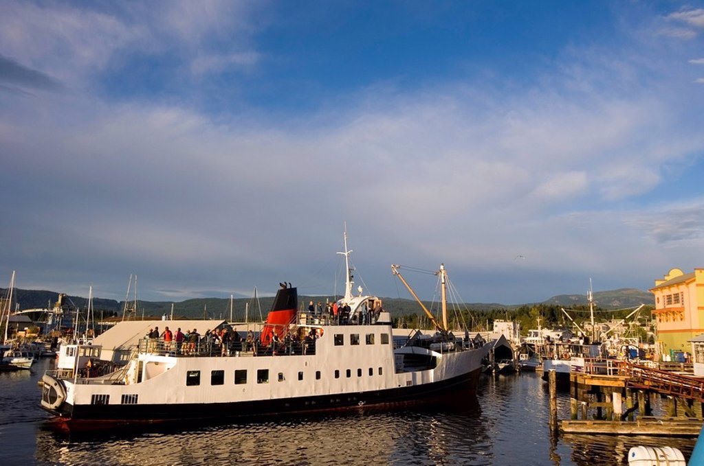 Lady Rose transport and passenger vessel, Port Alberni, Vancouver Island, British Columbia, Canada : Stock Photo