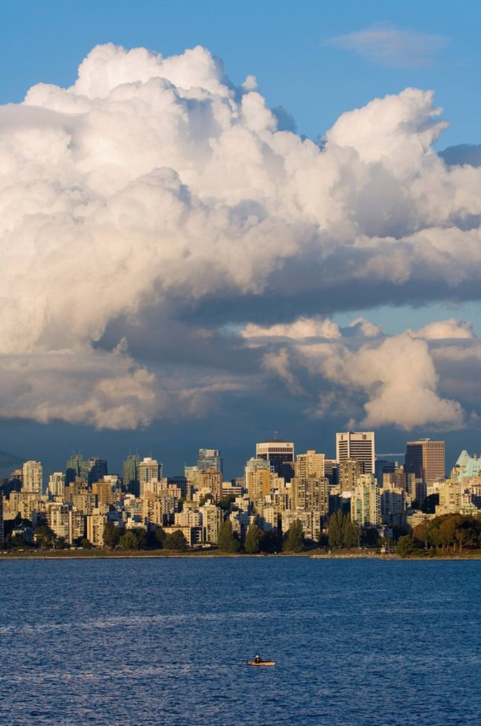 Downtown from Jericho Beach, British Columbia, Canada : Stock Photo