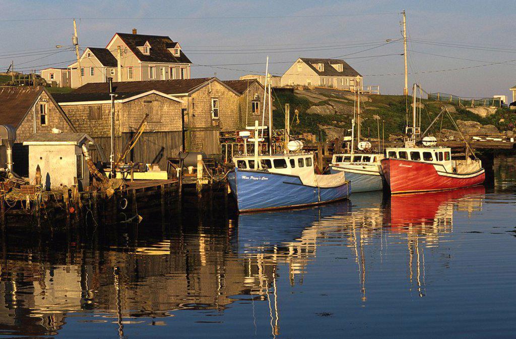 Stock Photo: 1990-2916 Peggy´s Cove, Nova Scotia, Canada