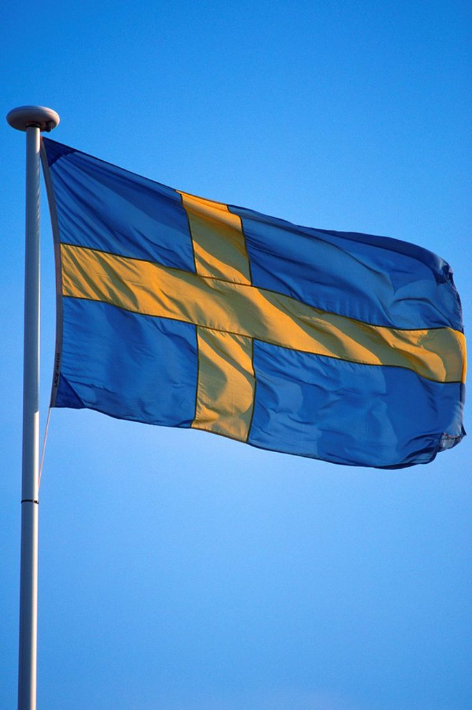 Flag of Sweden : Stock Photo