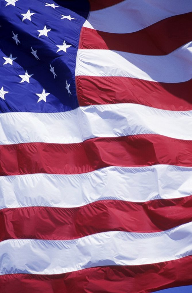 Stock Photo: 1990-30186 United States of America´s national flag