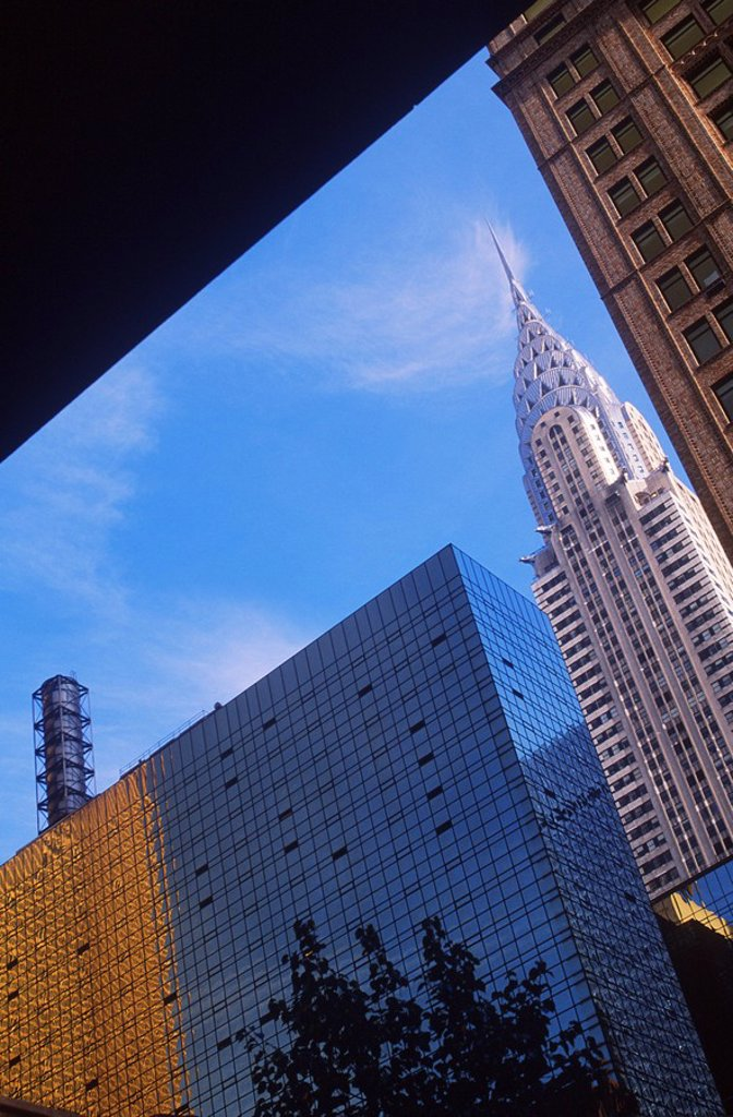 Stock Photo: 1990-30208 USA, New York City, Chrysler Building